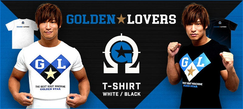 def2795b50c42f ... T-Shirt; Image of 'Golden Lovers' Kenny Omega & Kota Ibushi WHITE ...