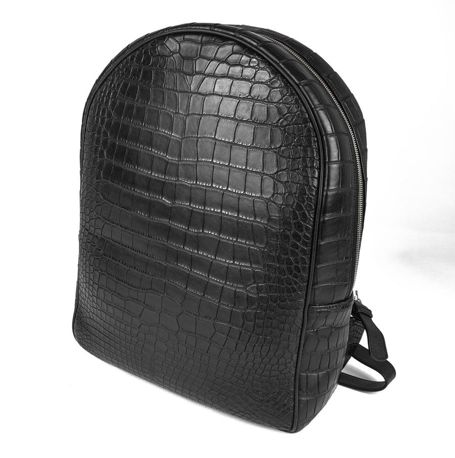 Image of Waterproof Alligator Backpack - Black