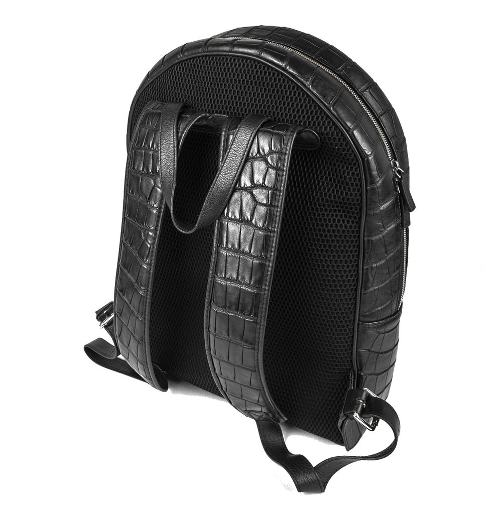 Image of Waterproof Alligator Backpack - Black