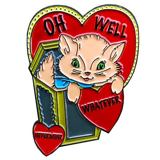 Image of Words to Live By Vintage Kitty Pack