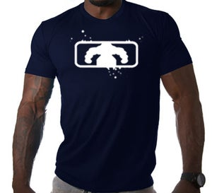 Image of Men's BSF Logo T - Navy/White