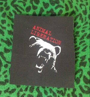Image of Pick 1 patch - The Riffs, Street Brats, Earth Crisis, Animal Liberation bear