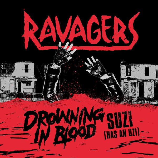 "Image of Ravagers ""Drowning In Blood"" 7 inch"