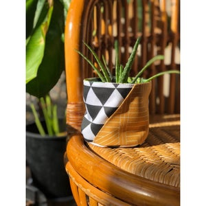 "Image of 4"" Fabric Planter"