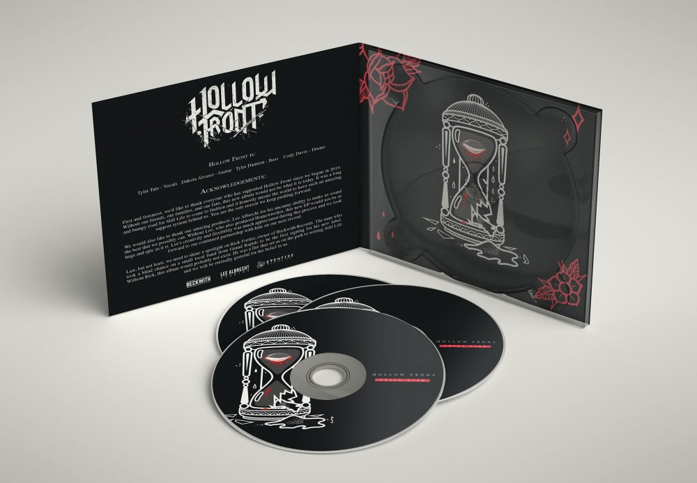 Image of Hollow Front 'Still Life' EP Digipak