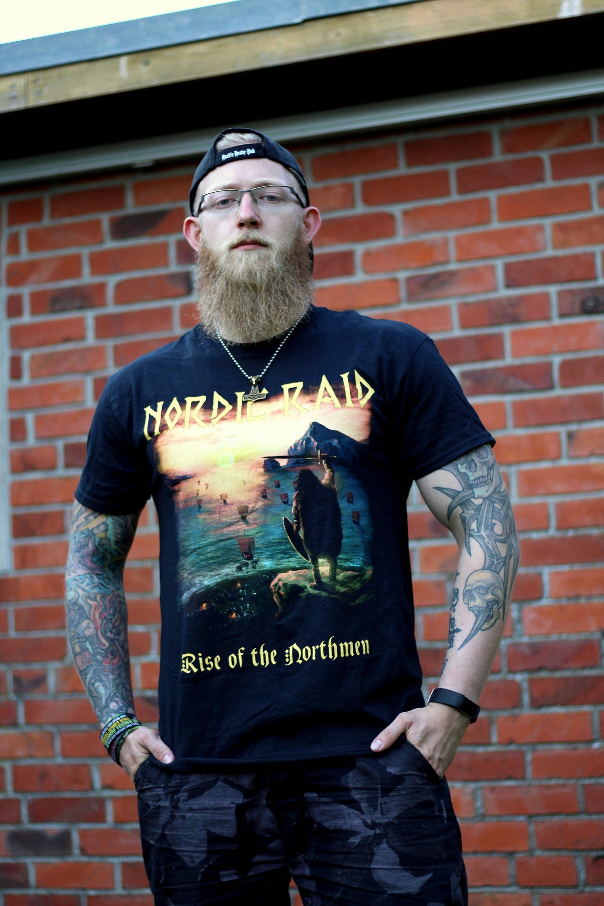 """Image of T-Shirt - """"Rise of the Northmen"""""""