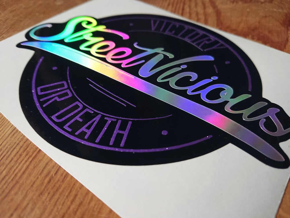 "Image of Premium Multi-layer 5.5"" Sticker - Purple"