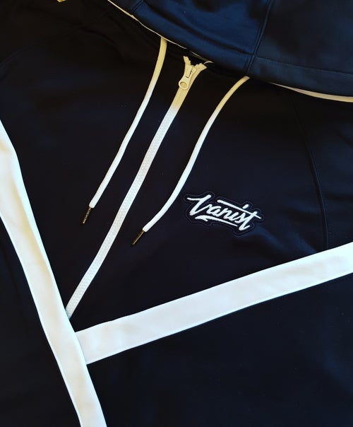 Image of Black & Frost White Zip up
