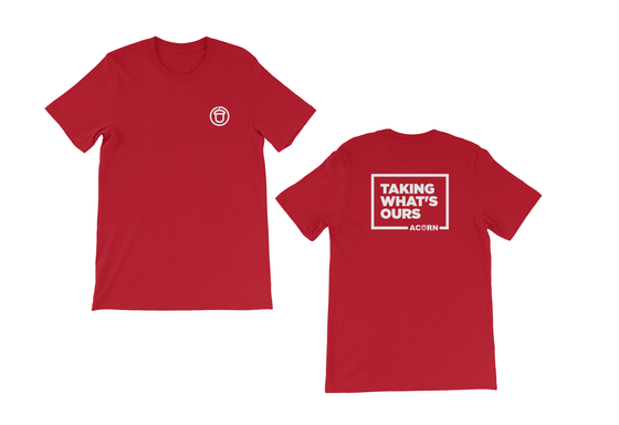 Image of Taking What's Ours Teeshirt (Red)