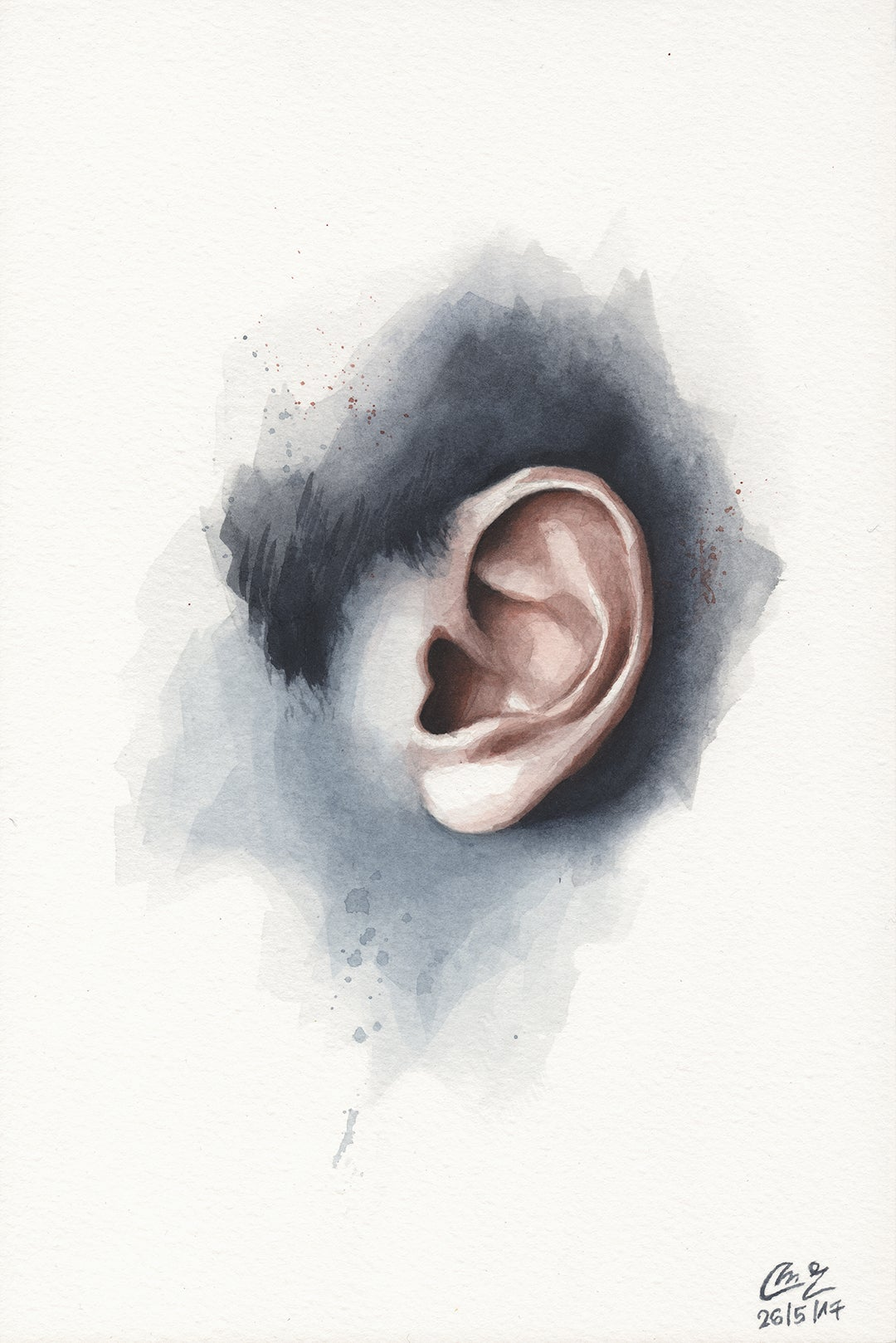 Image of Watercolor Study #02