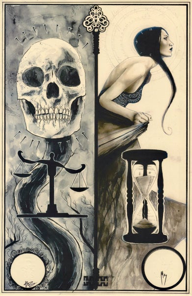 Image of TAROT print by Ben Templesmith + menton3