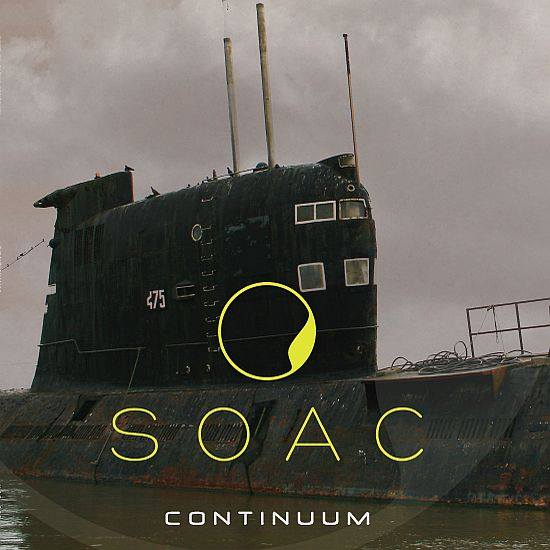 Image of SONS OF ALPHA CENTAURI - CONTINUUM Milkey Vinyl edition (Limited to 30 copies)