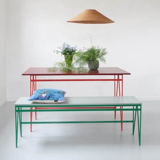Image of Colour Play Bench long | Various Colours