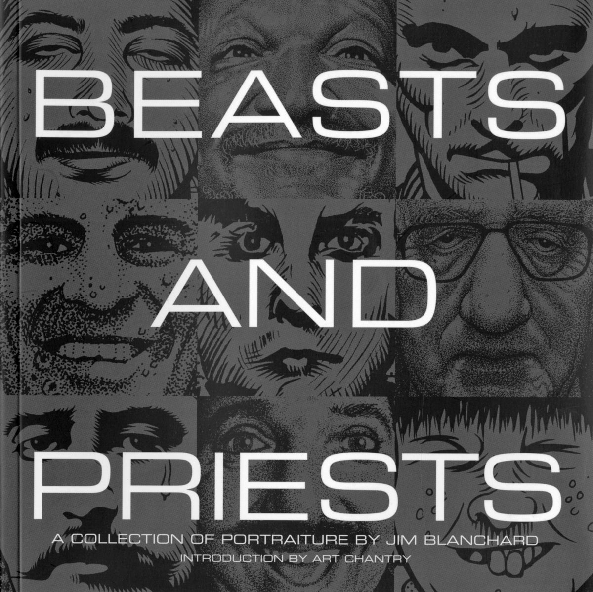 Image of BEASTS AND PRIESTS portraits art book