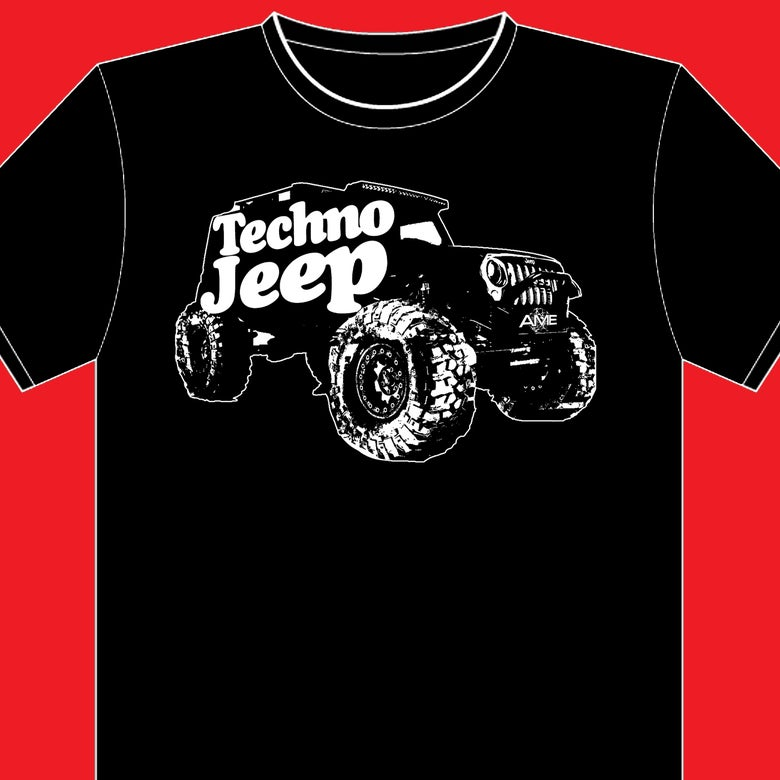 Image of PRESALE:  TECHNO JEEP Tees