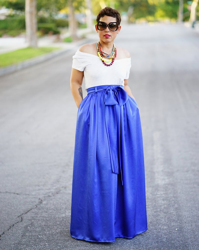 Image of NEW REGAL MAXI SKIRT VIDEO TUTORIAL