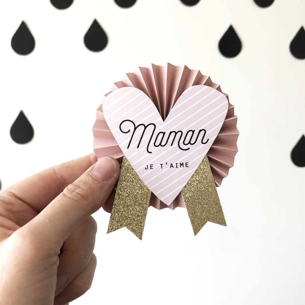 Image of MAMAN je t'aime d'amour
