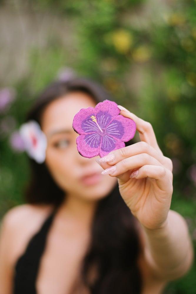 Image of Purple Hibiscus