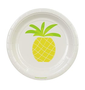 Image of Pineapple Cake Plates