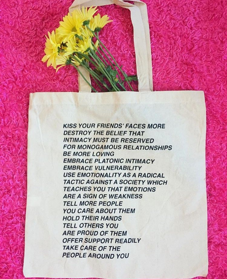 Image of KissYourFriends tote