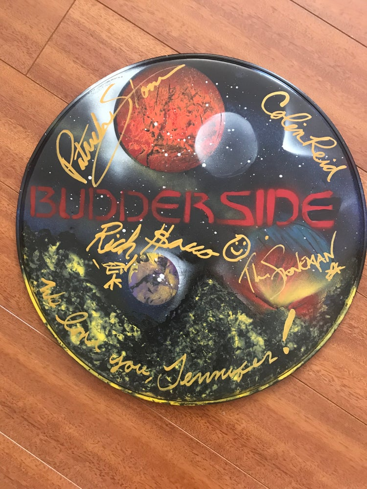 Image of Custom Painted Signed Drumhead