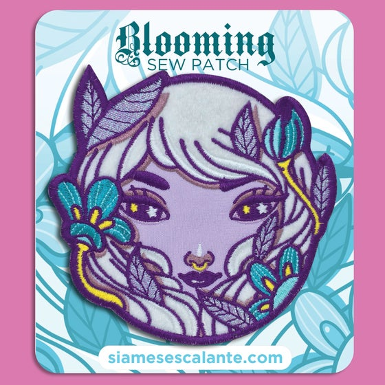 Image of Blooming | Ltd. Edition Sew Patch
