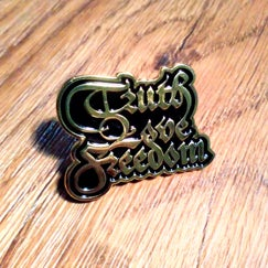Image of Truth Love Freedom Enamel Pin