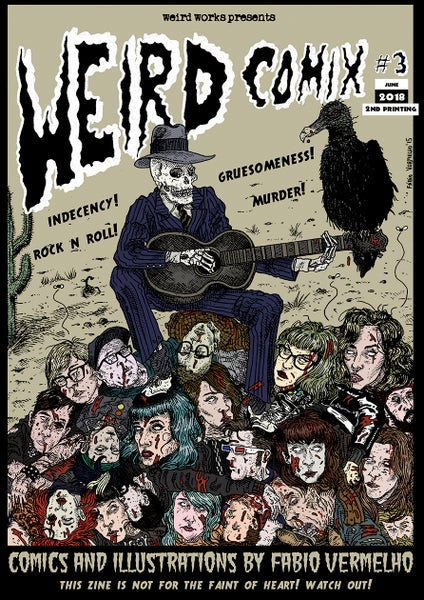 Image of Weird Comix #3 [2nd printing]