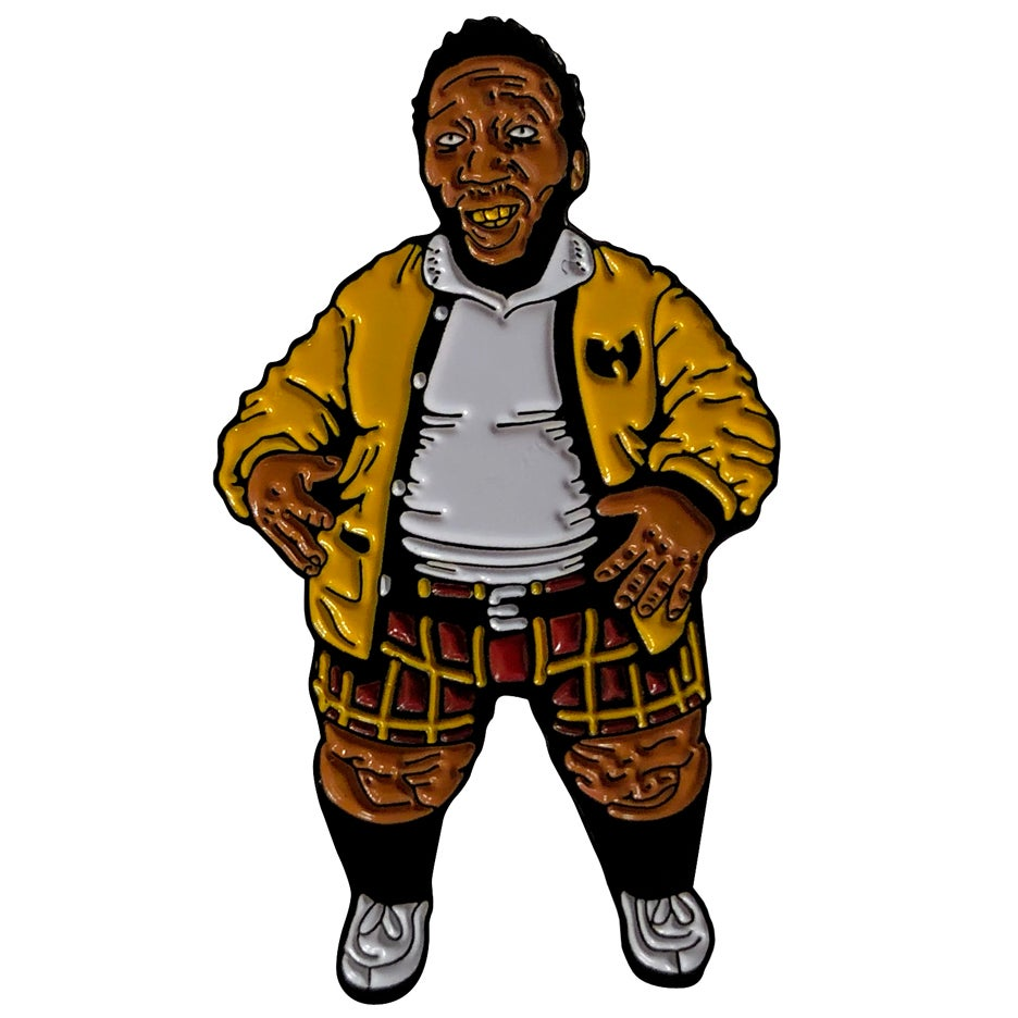 Image of OL DIRTY FAT BASTARD (enamel pin)