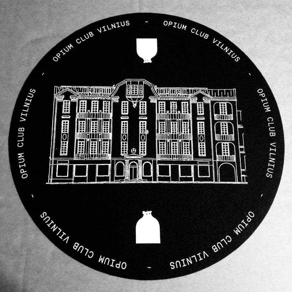 Image of OPIUM OF THE PEOPLE TURNTABLE SLIPMATS (pair)