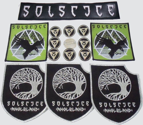 Image of SOLSTICE - Patches & Badges