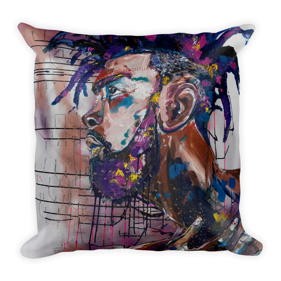 "Image of ""Ascend"" Throw Pillow"