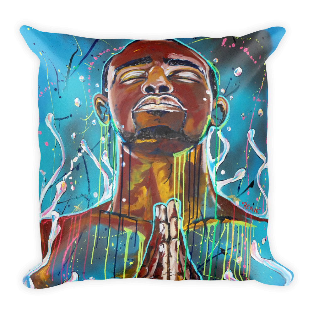 """Image of """"Revive"""" Throw Pillow"""