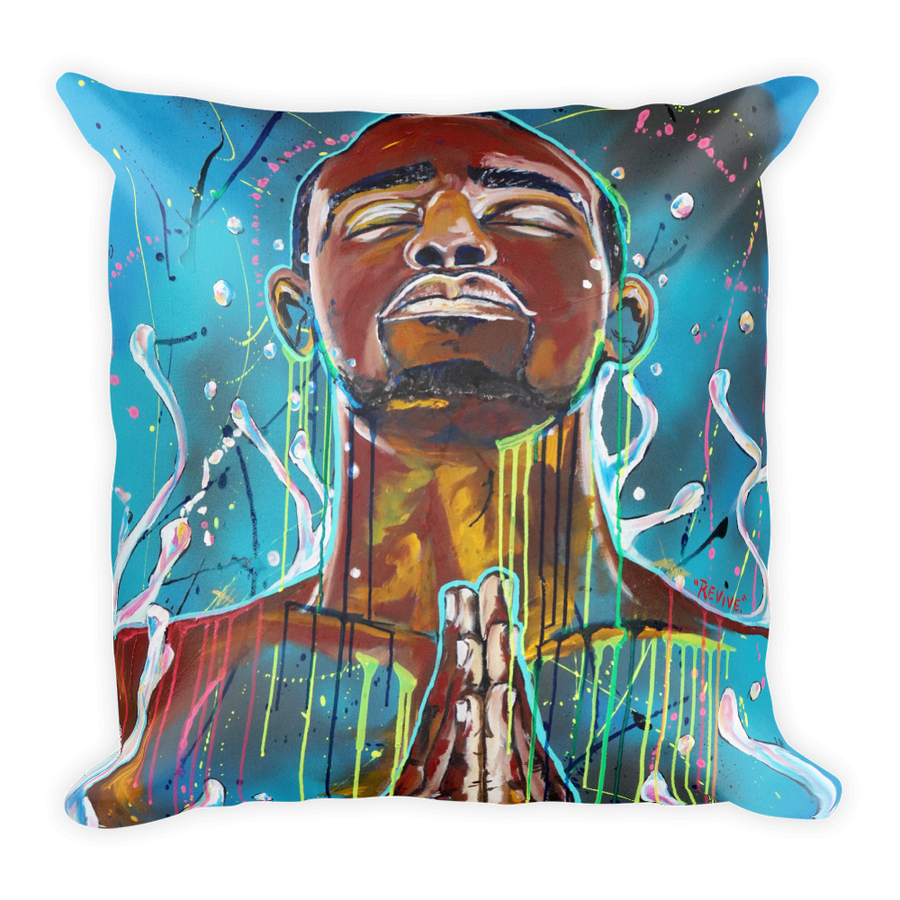 "Image of ""Revive"" Throw Pillow"