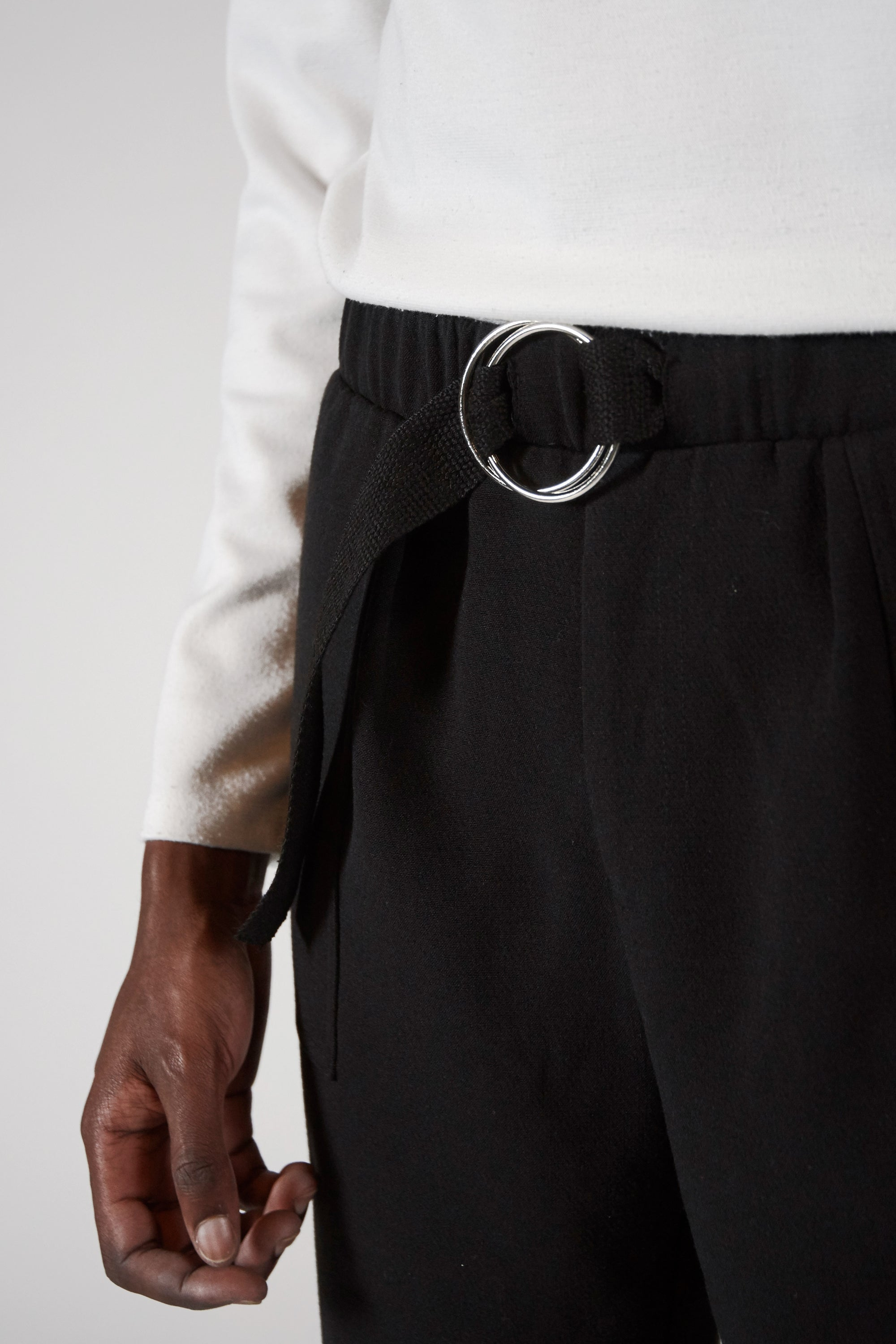 Image of BLACK TROUSER - SILHOUETTE 01™