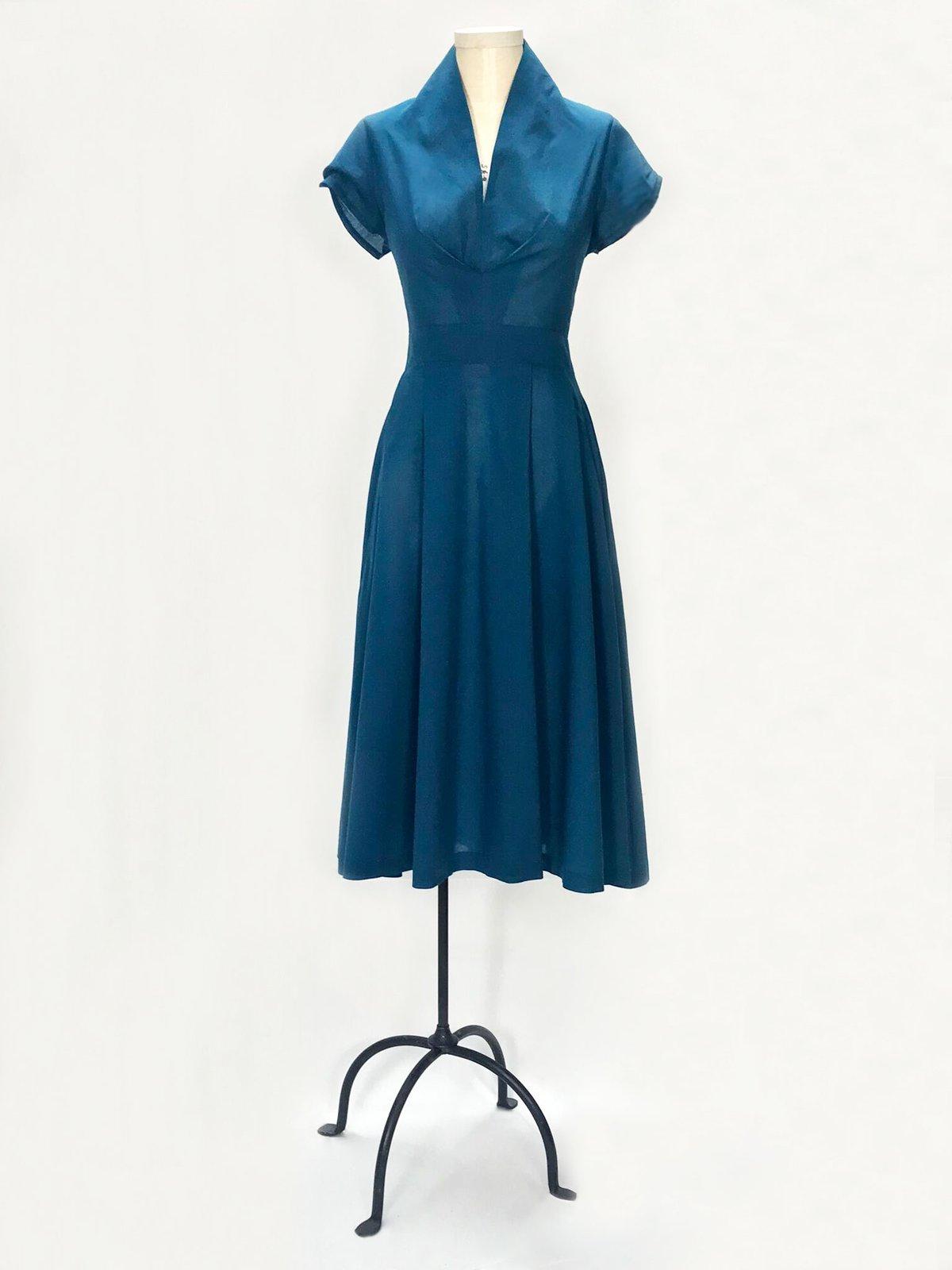 Image of Mona Van Seuss Dress (Teal)