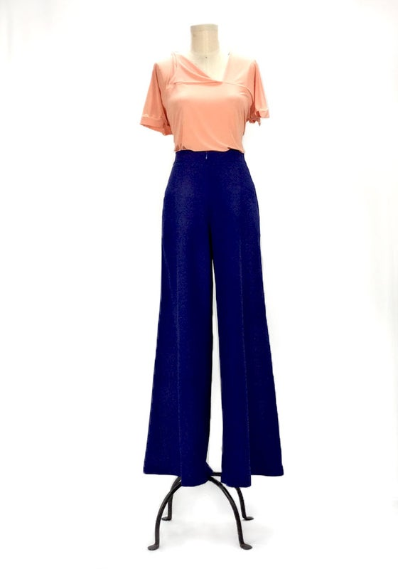 Image of Kate Hepburn Pants (electric blue)