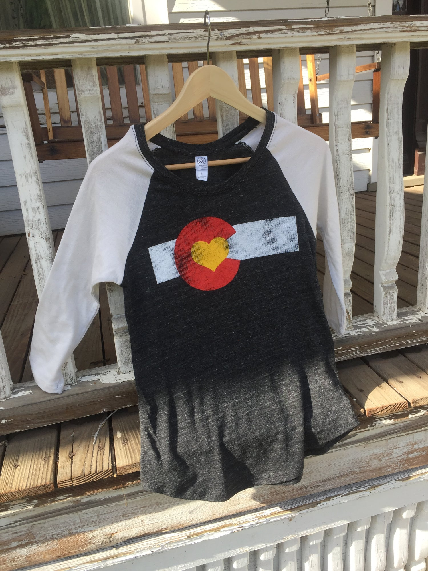 Image of Colorado Love Baseball Tee