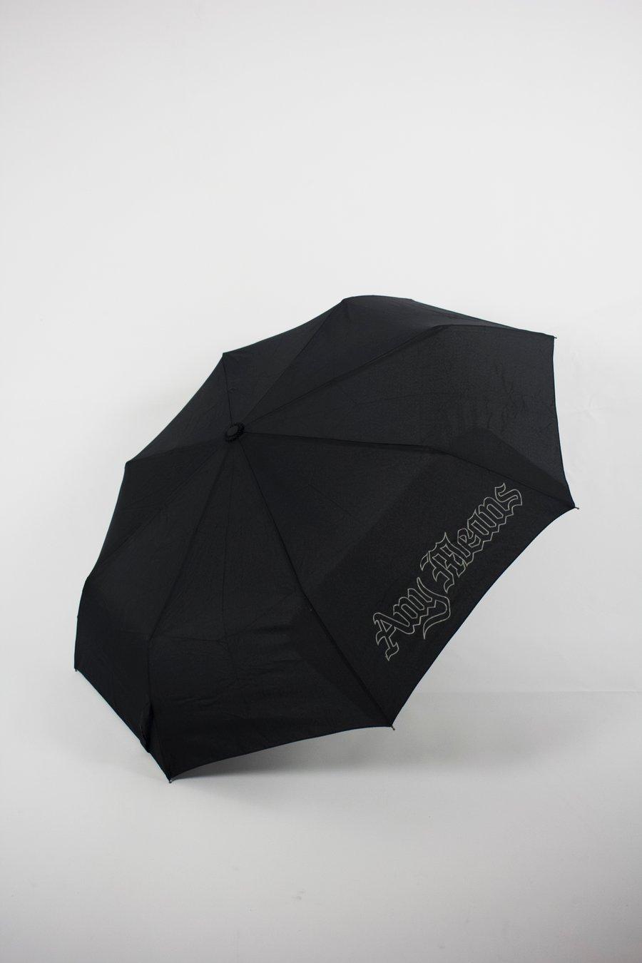 Image of Compact Umbrella in Black