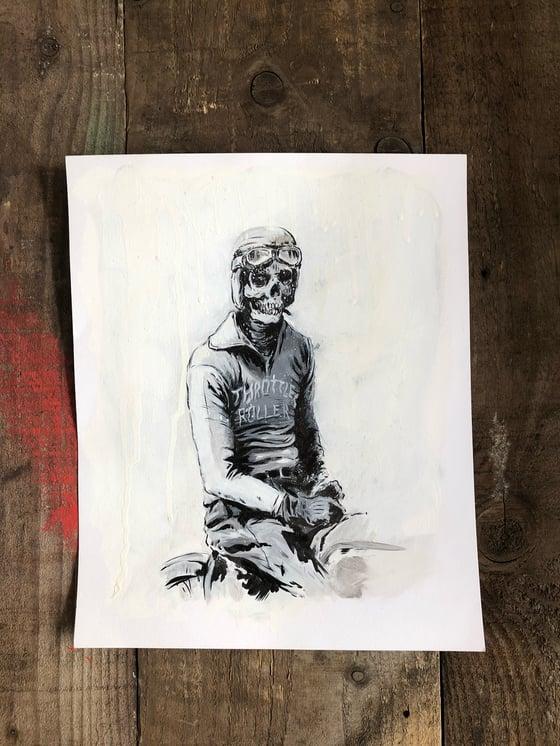 Image of ORIGINAL - Throttle roll painting