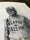 ORIGINAL - Reapin' Creepin' painting