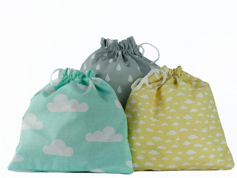 Image of Sacchetto porta biancheria neonato