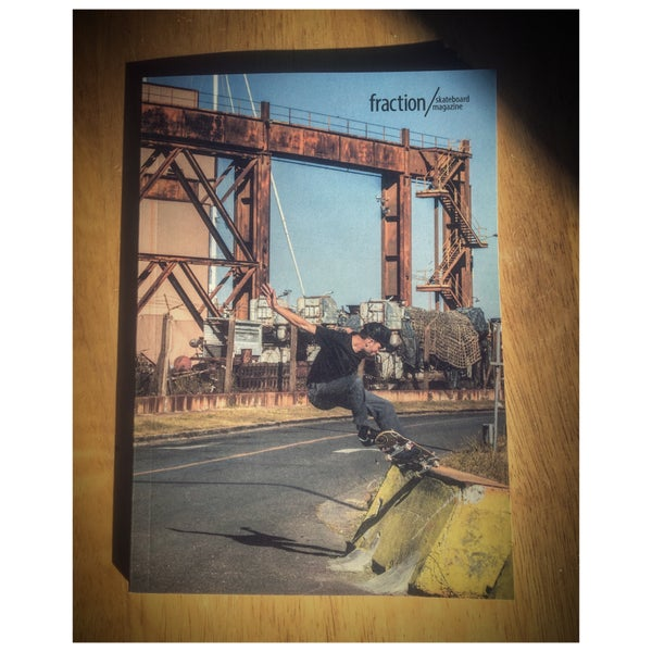 Image of Fraction Skateboard Magazine Issue Two