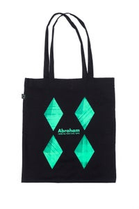 Image of ABRAHAM — Look, Here Come the Dark ! totebag