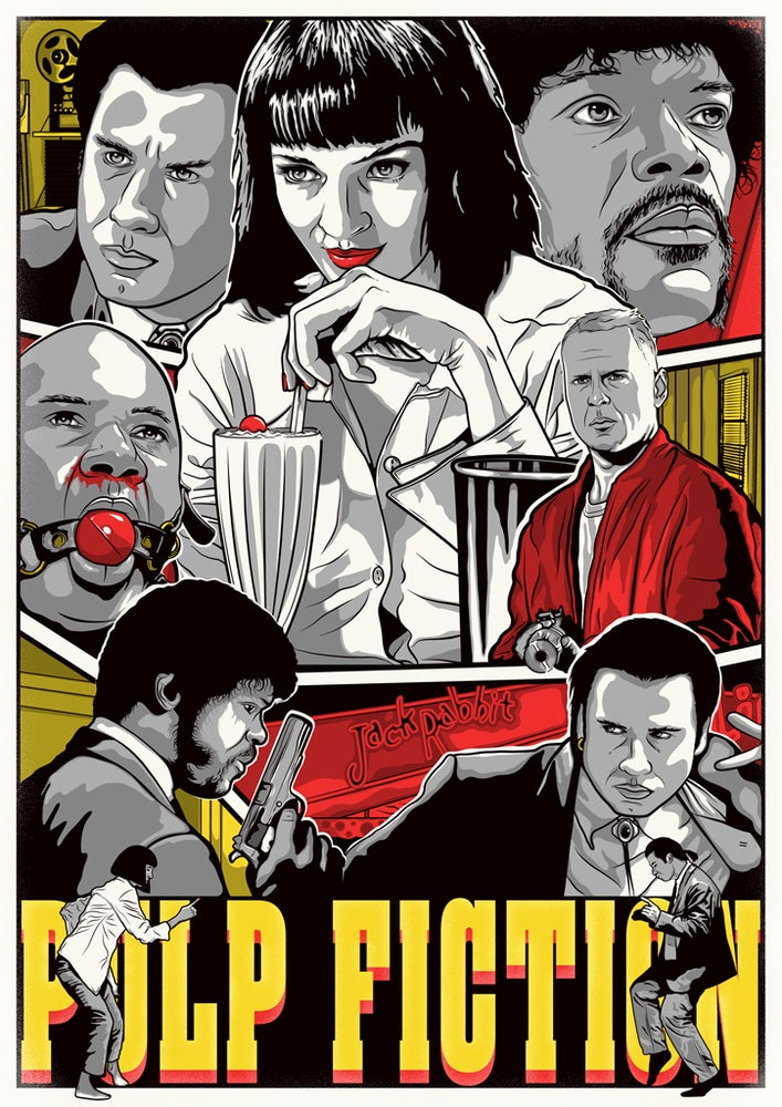 Image of Pulp Fiction - A3 Print