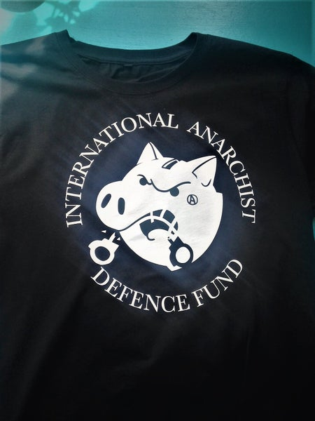 Image of Anarchist Defence Fund t-shirt Black