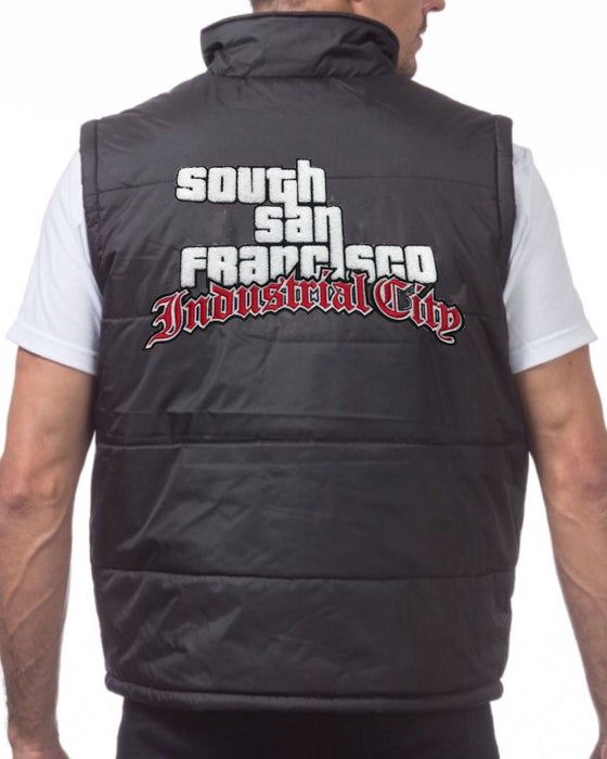 Image of Industrial City GTA Chenille Puff Vest.
