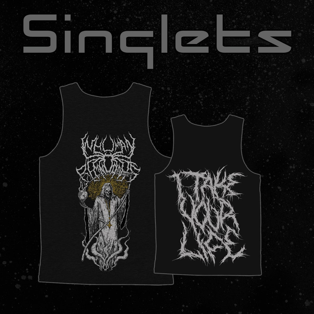 Image of I Take Your Life Singlet