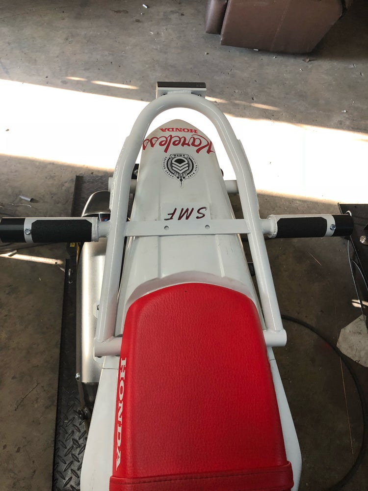 Image of Honda CRF250L stunt subcage / tailsaver / 12 bar