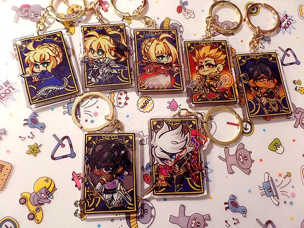 Image of FGO Key Rings Vol 1